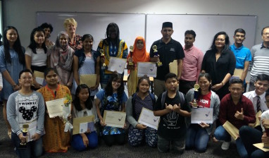 Finals of Migrant & Refugee Poetry Competition Malaysia 2018