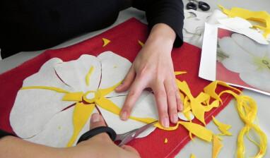 'Flower Power' Textile workshops in prisons.DSCN9652